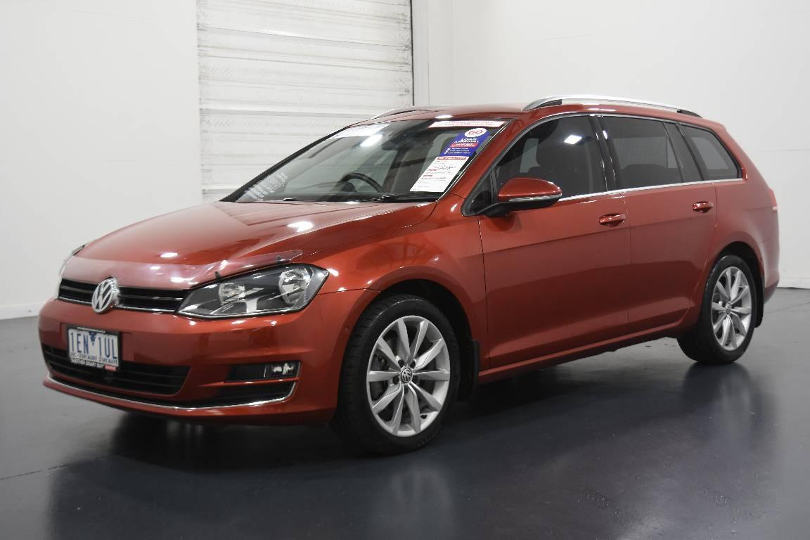 2015 Volkswagen Golf AU MY15 110 TDI HIGHLINE